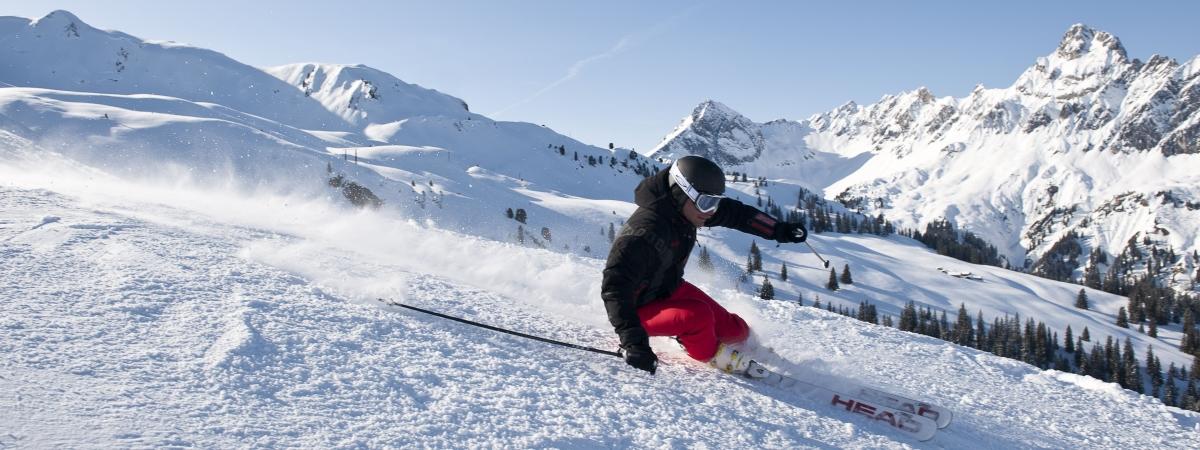 Schifahren im Montafon